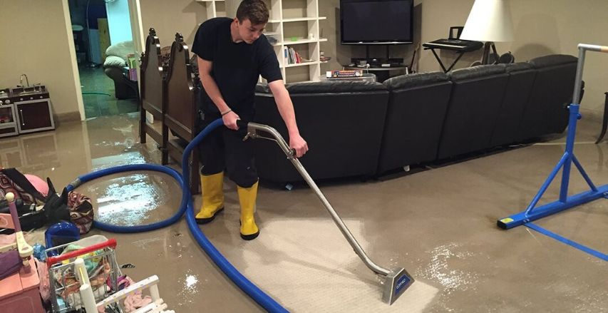 Basement Flood Cleanup in Jackson, NJ (5792)